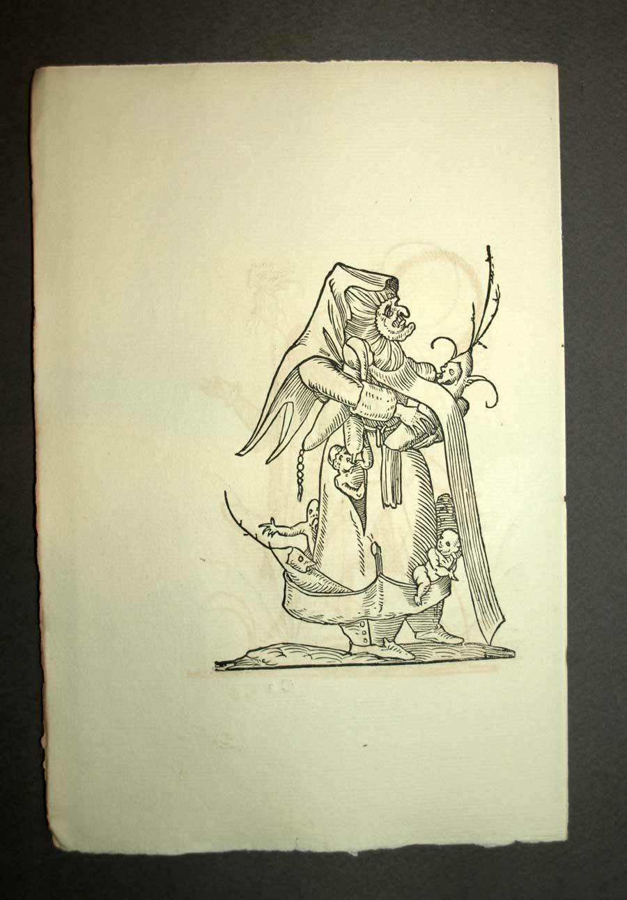 die nanny monströse Träume Merkmal der Rabelais Pantagruel Gravur | eBay